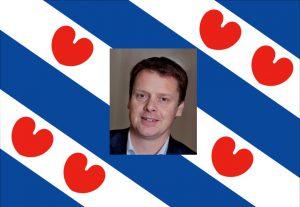Friesland vlag met kop
