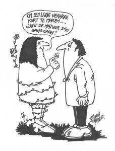 cartoon van Frans Bijvank, Markelo